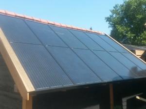zonnepanelen op tuinhuis autonoom